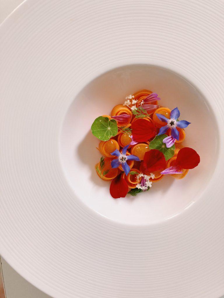 carotte fleurie